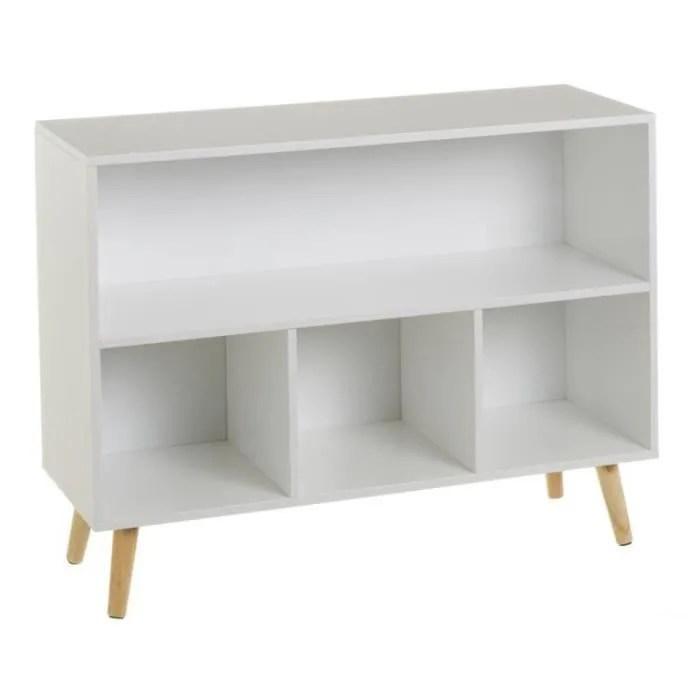 meuble bibliotheque sur pied couleur meuble bl