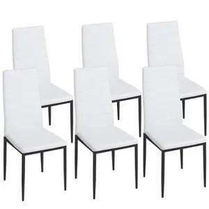 lot de 6 chaises soldes cdiscount maison