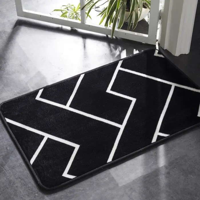50 80cm tapis d entree interieur absorbant antider