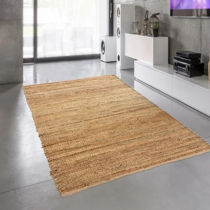 un amour de tapis jute nature 180 80x150 cm tapis
