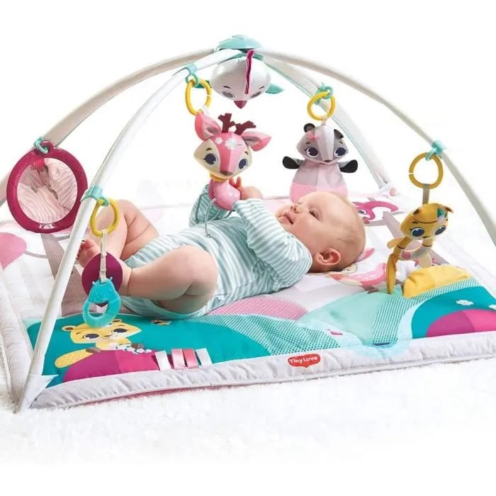 tiny love gymini tapis d eveil bebe fille musical