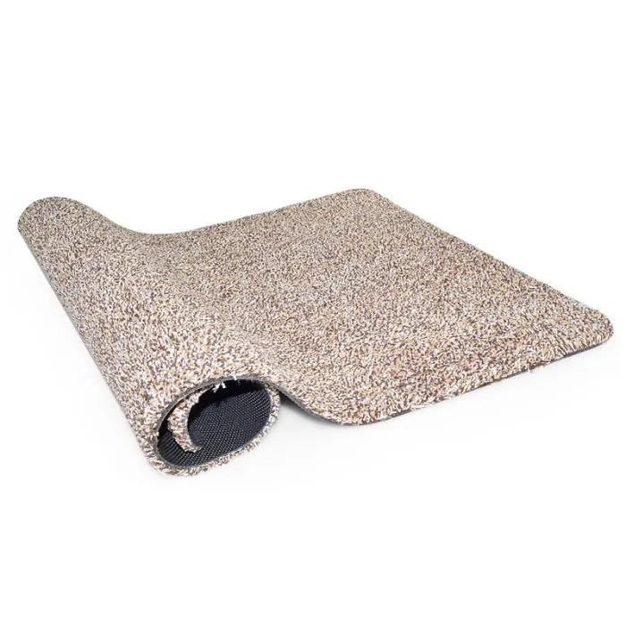 tapis de porte anti glisse pour sous tapis en late