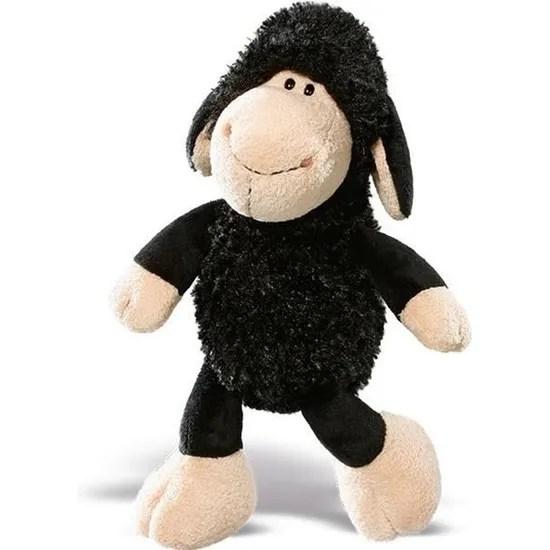 peluche mouton noir 25 cm jolly ben 25cm