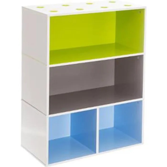 Meuble Cube Etageres Pour Enfant Bleu Vert Marron Dim L 54 X P 27 X H 81cm Achat Vente Casier Pour Meuble Soldes Sur Cdiscount Des Le 20 Janvier Cdiscount