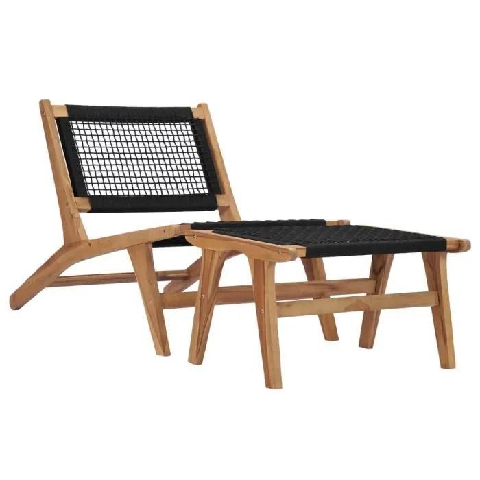 jardin bain relaxation fauteuil relax