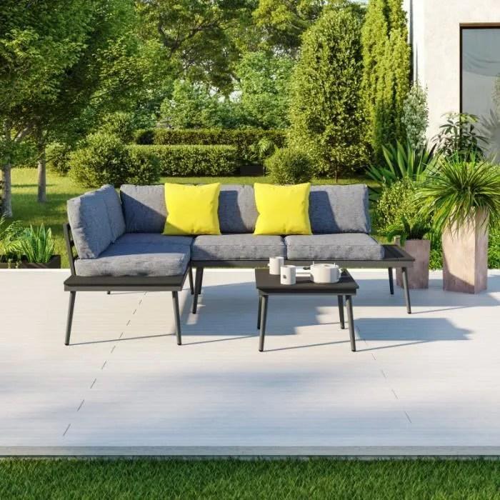 salon d angle de jardin design