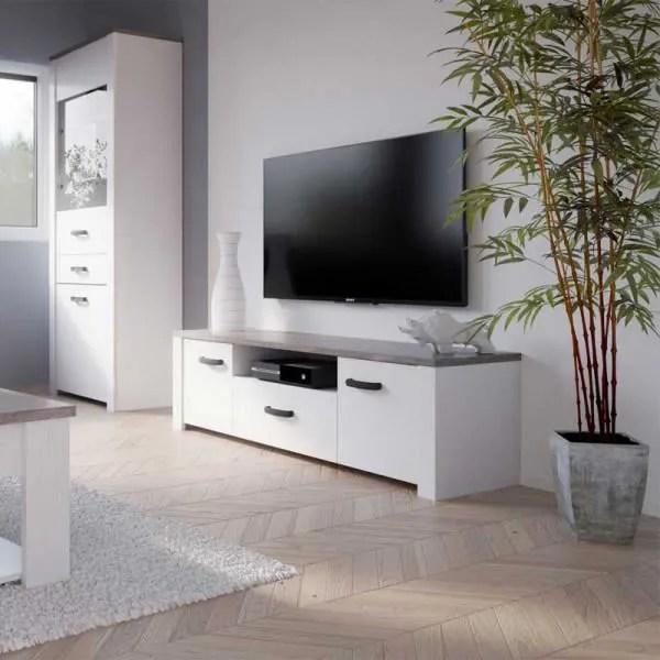 meuble tv pied epingle
