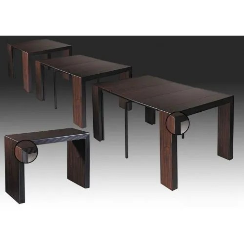 table console extensible 3 rallonges