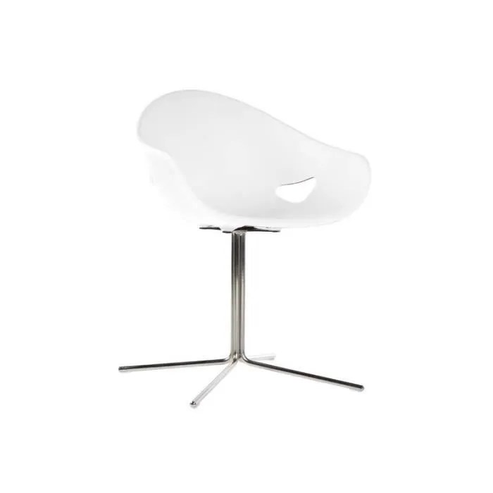 chaise ronde pied central ovo etoile