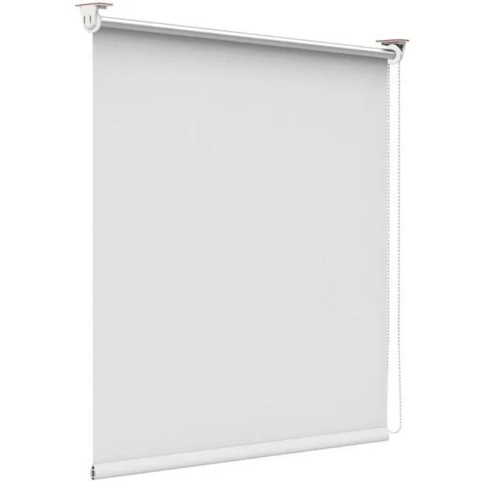 store enrouleur blanc 105 x 170 cm store occultant