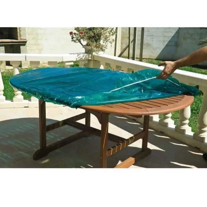 bache de protection plateau de table de jardin exterieur xl 120 x 240 cm