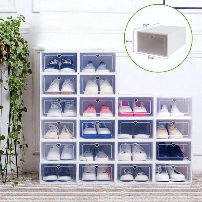 كينيا هايكو رئيس rangement chaussures transparent