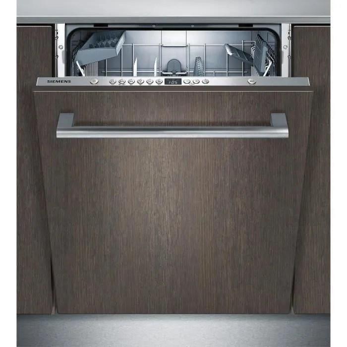 lave vaisselle tout encastrable siemens sn636x00ae