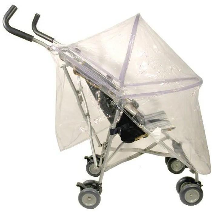looping habillage pluie avec armature pour poussette sans canopy