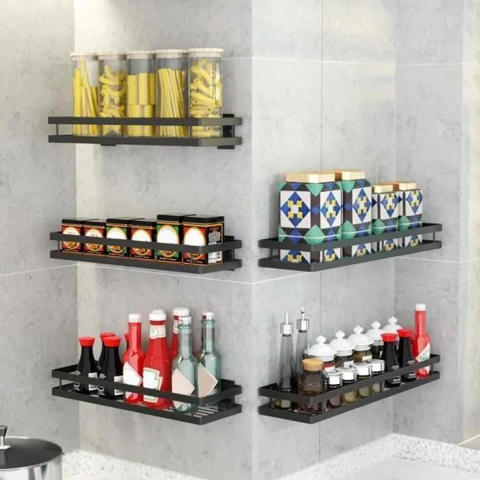 etagere rangement cuisine etagere murale cuisine etagere a epices cuisine 30cm