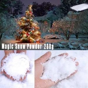 deco noel neige artificielle