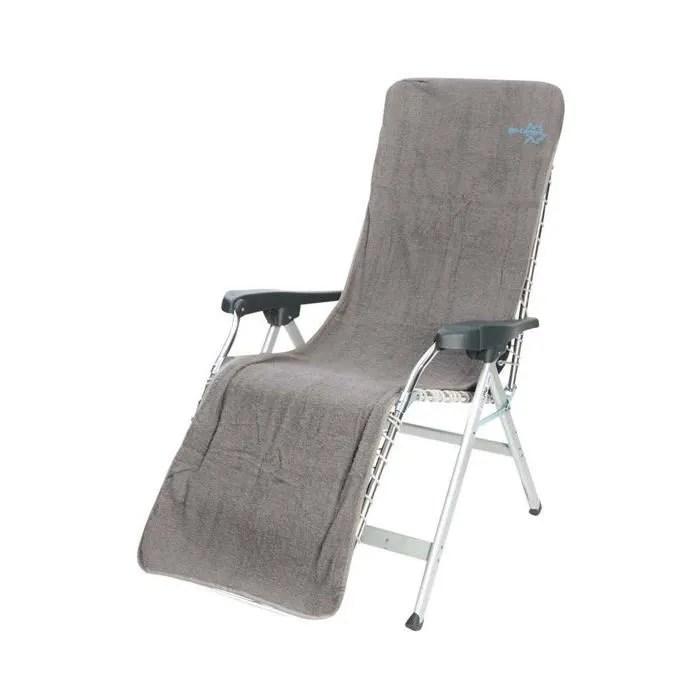 housse pour chaise longue bo camp