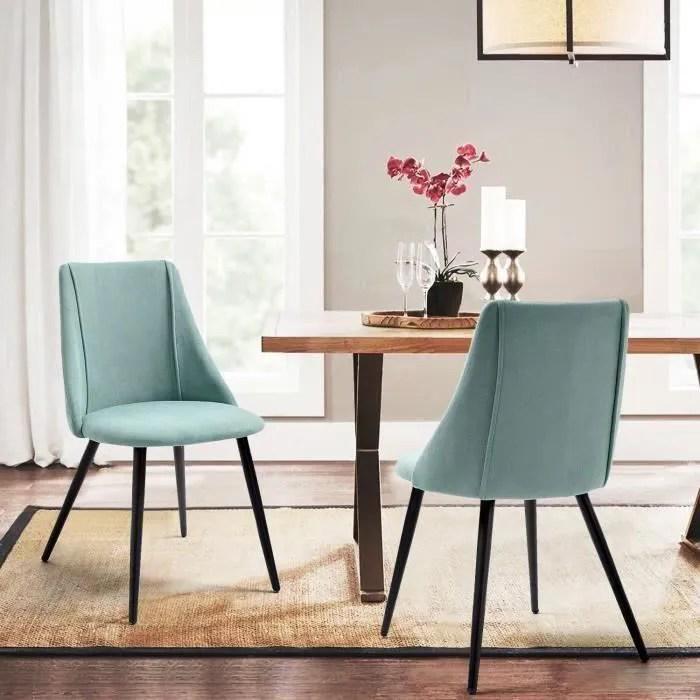 furnish1 lot de 2 chaises salle a