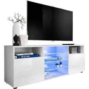 meuble tv led cdiscount maison