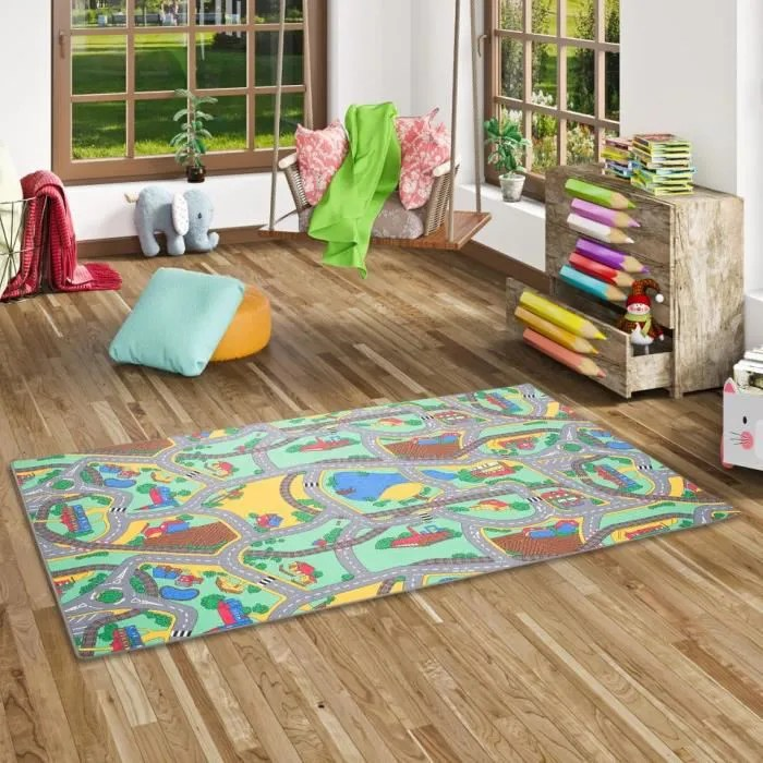 tapis route fille