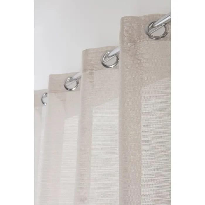 rideau grande hauteur 140 cm x 280 cm a oeillets t
