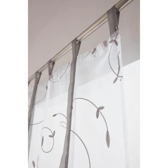 voilage vitrage 70 x 240 cm store enrouleur a patt