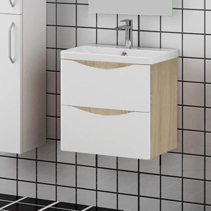 meuble salle de bain 500mm