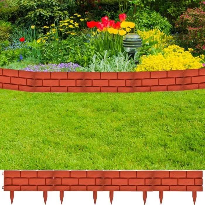 bordures de jardin imitation brique 11