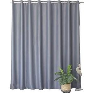 double rideaux grande largeur
