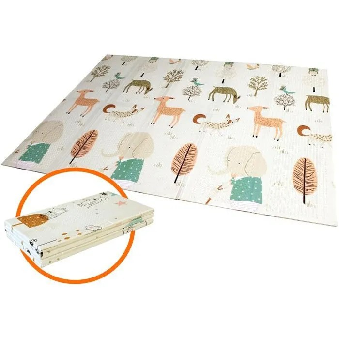 tapis de jeu pour bebe tapis pliable