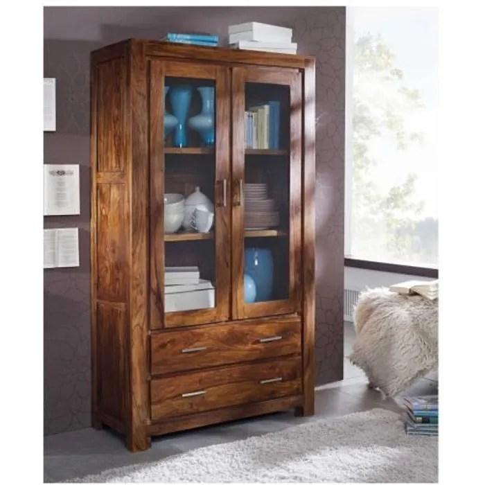 vitrine vaisselier bois massif de