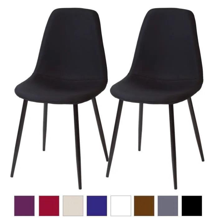 lot chaises noir