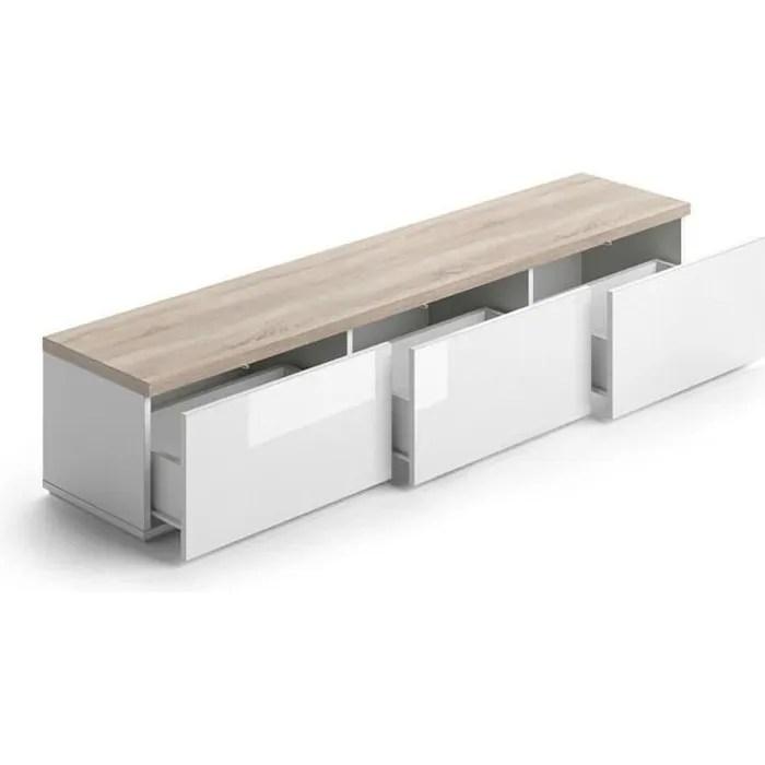 meuble tv design scandinave avec