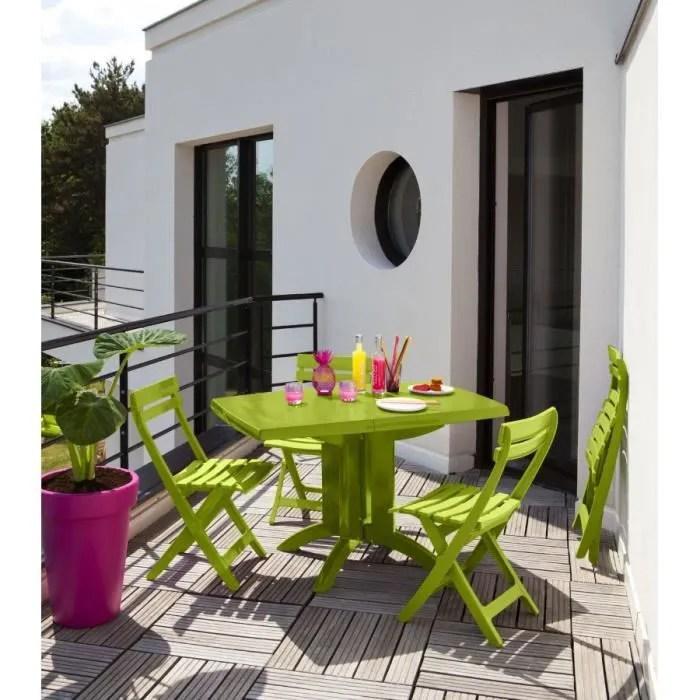 salon de jardin grosfillex vert anis