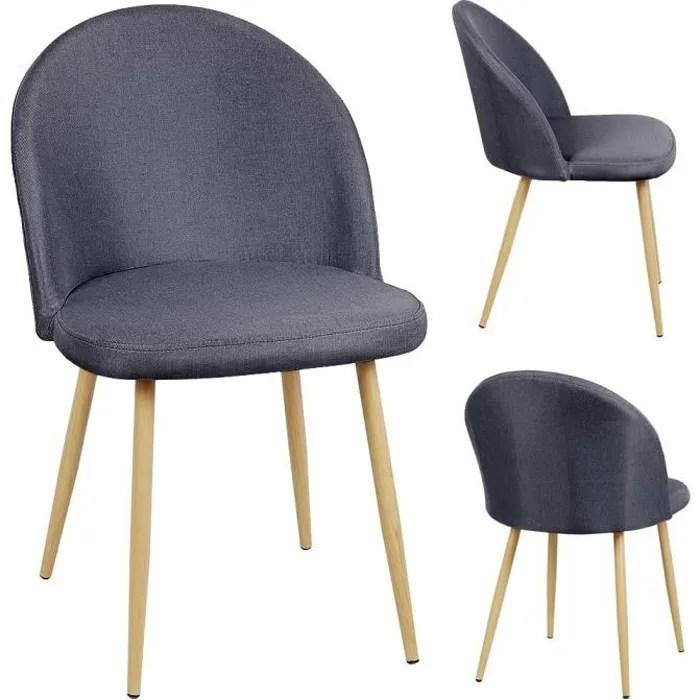 pas cher lot de 4 chaises design
