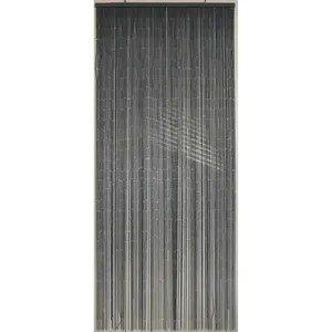 rideau fil gris achat vente rideau