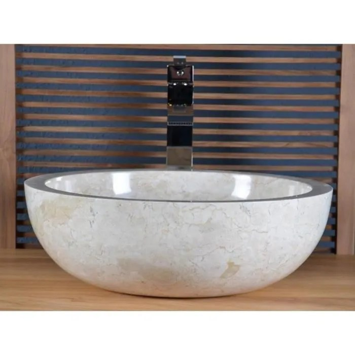 vasque salle de bain beige