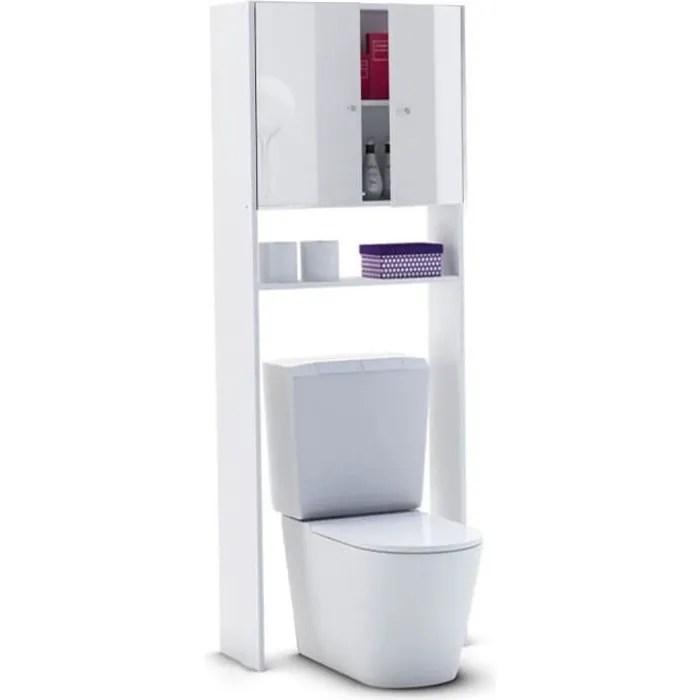 corail meuble wc ou machine a laver l 63 cm blan