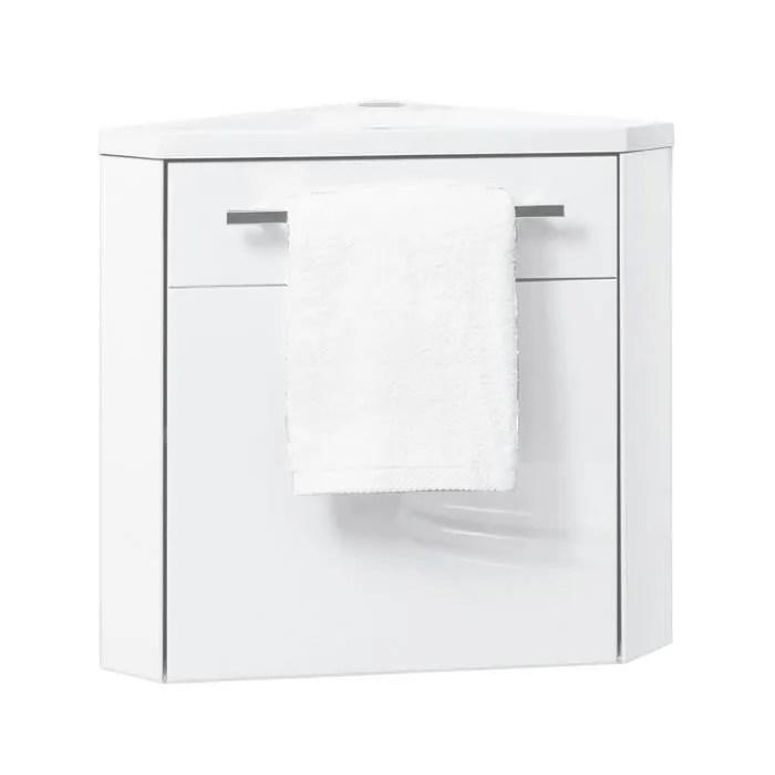 ondee lave mains d angle nino 53cm blanc l
