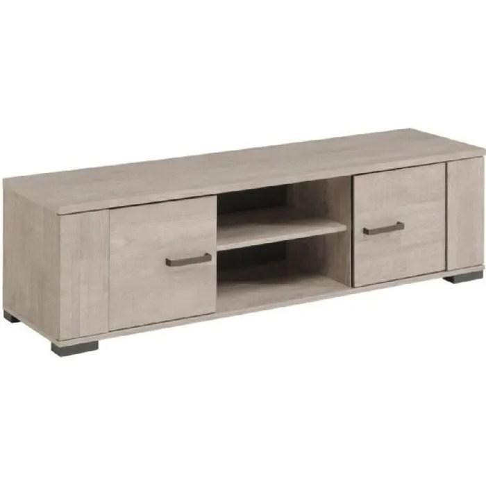 meuble bois gris