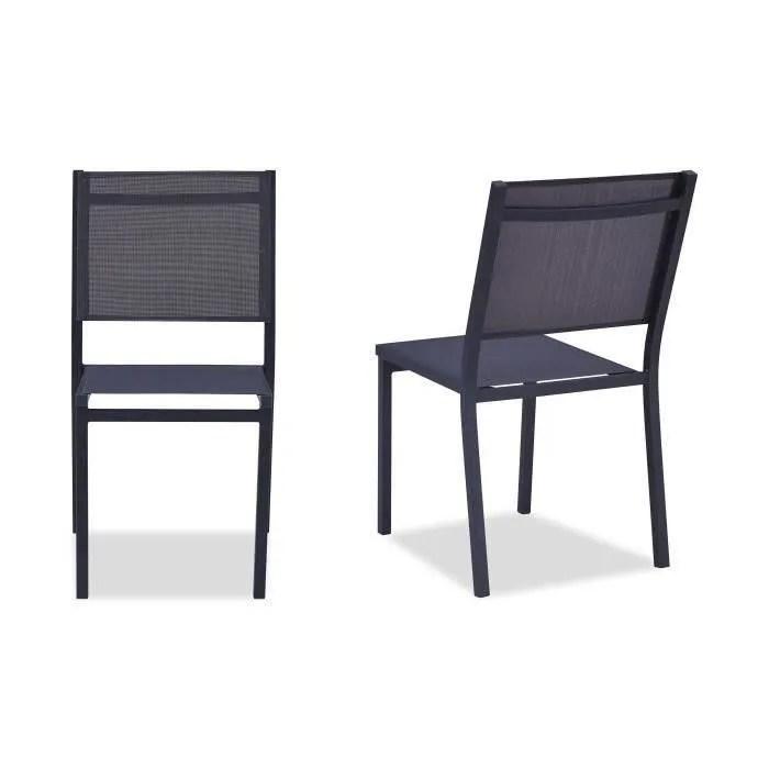 chaise de jardin aluminium cdiscount