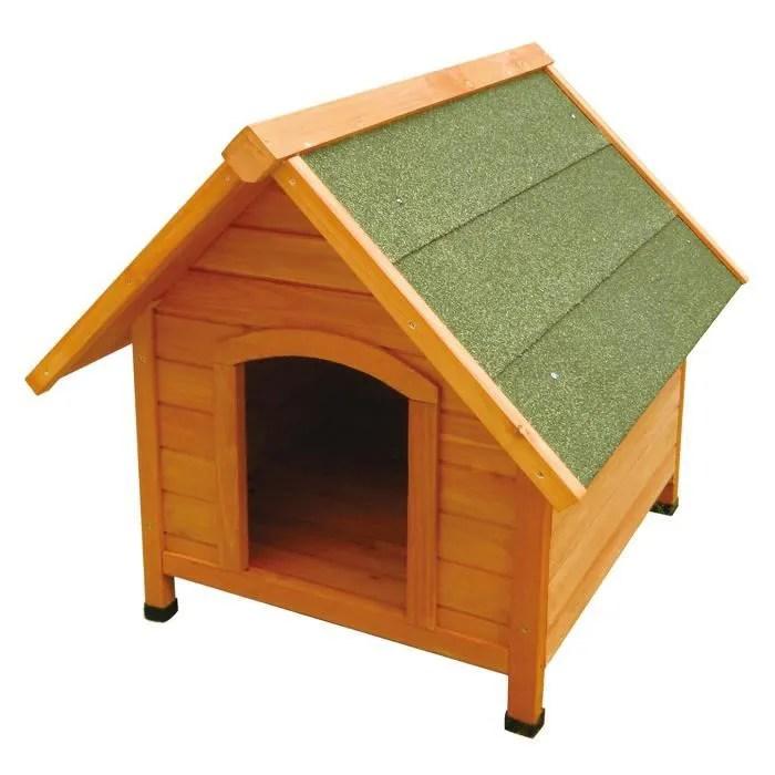niche petit chien bois