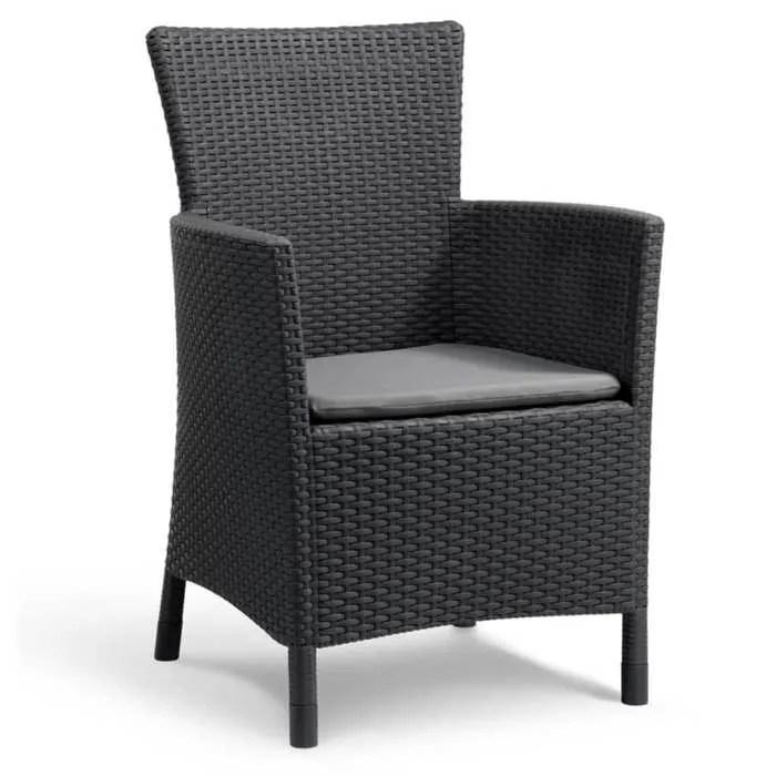 fauteuil resine tresse