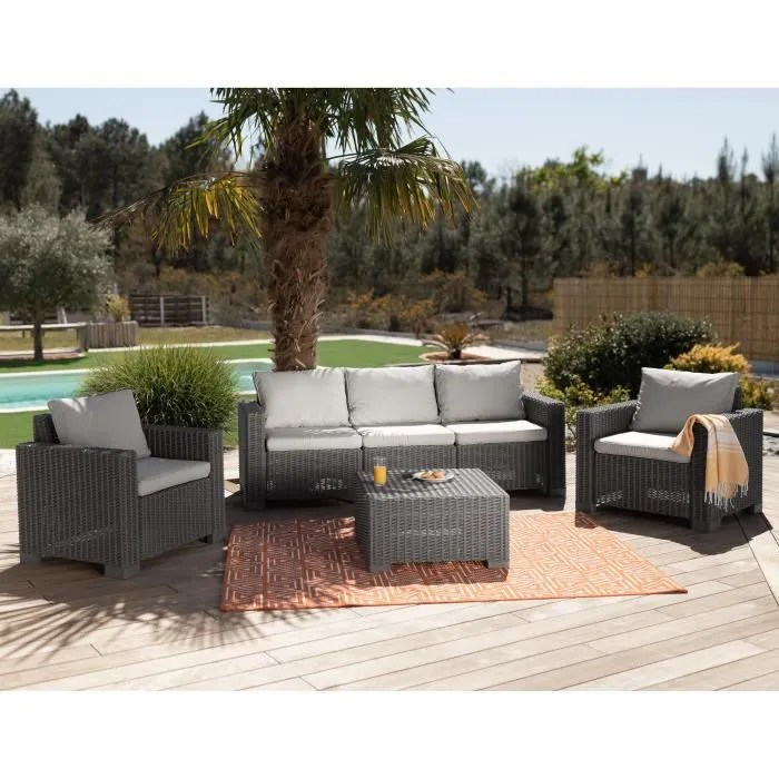 salon de jardin california