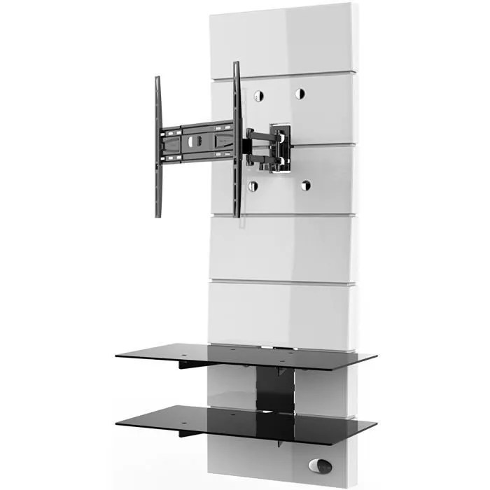meliconi meuble tv support orientable 32 a 63