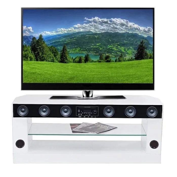 sv8801whd meuble tv barre de son 75w