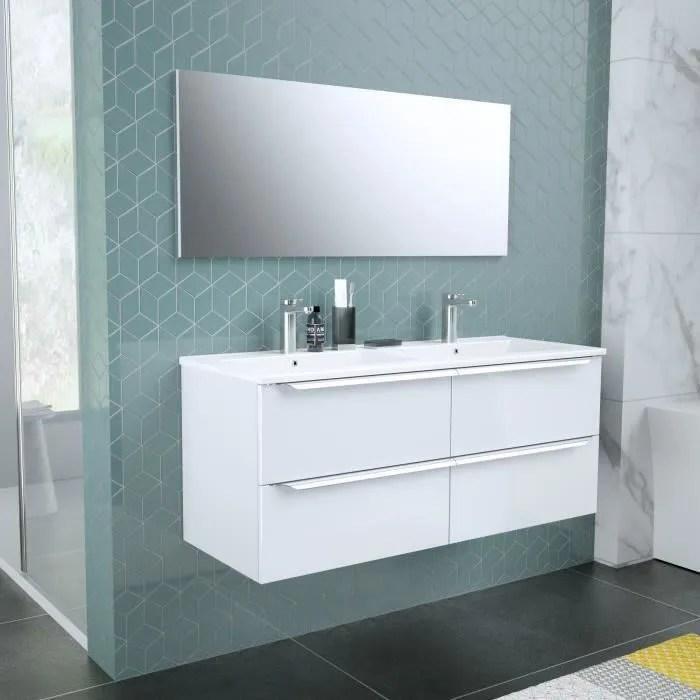 Meuble Salle De Bain Avec Vasque Et Miroir Achat Vente Pas Cher