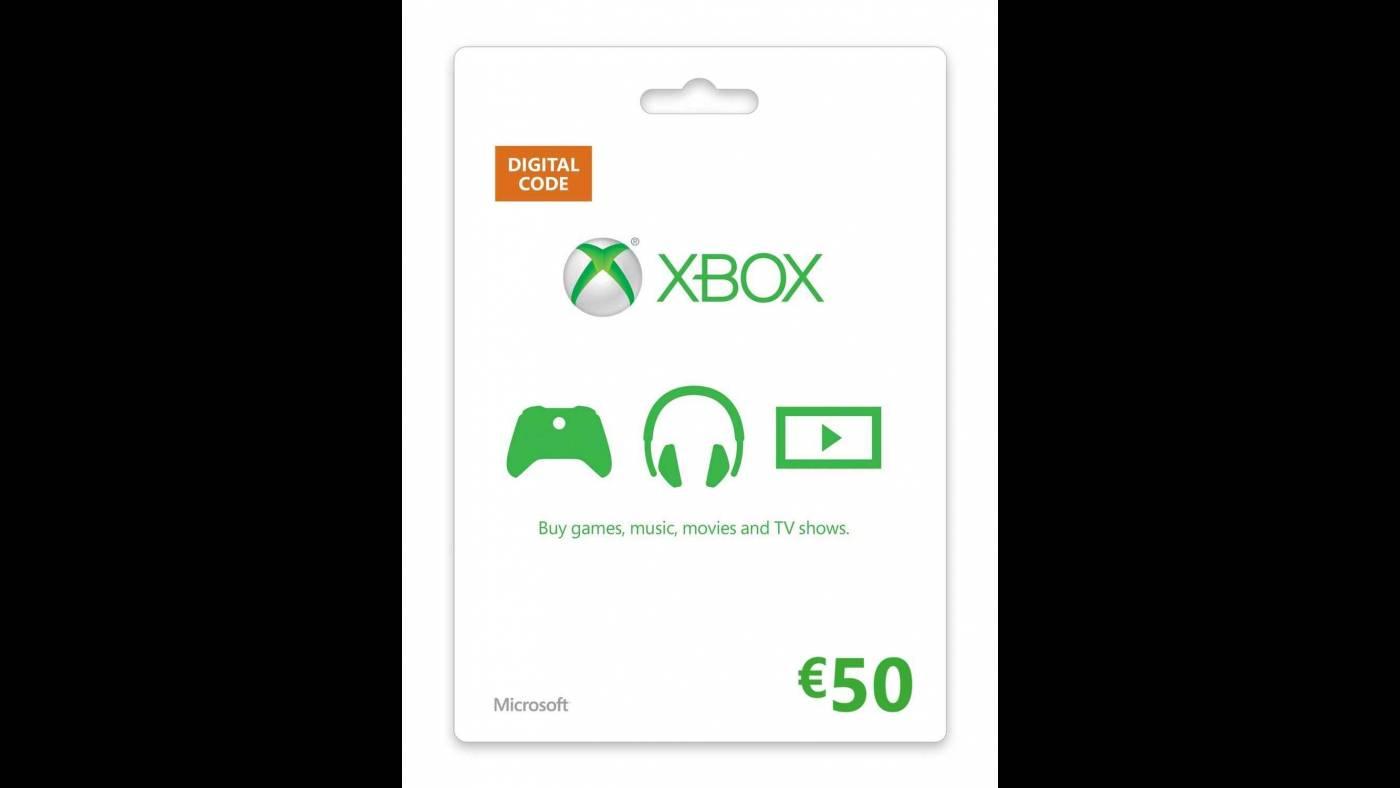 Download Xbox 50 EUR Gift Card Cd Key Online 5215