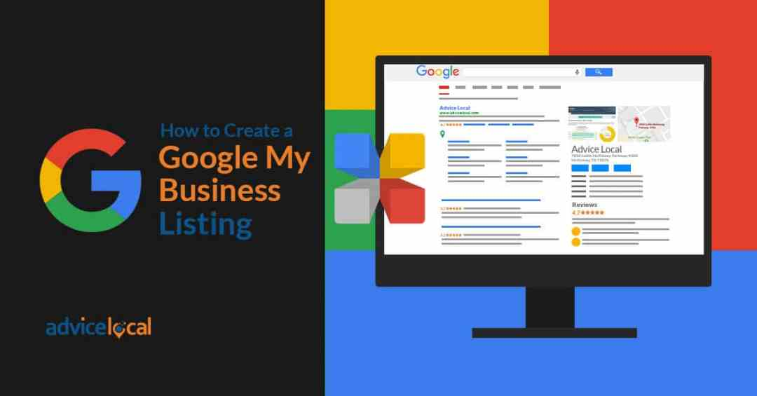 Creating Google My Business Listing