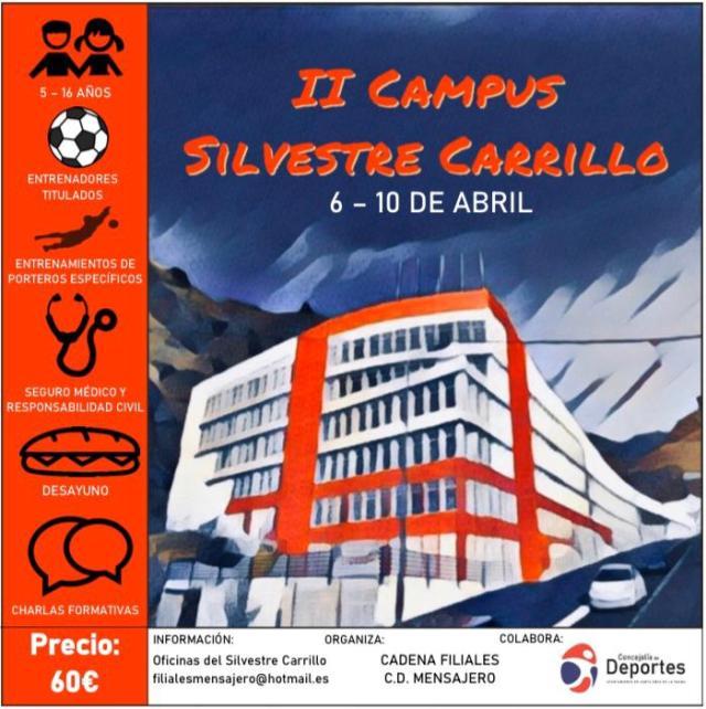 ¡Segunda edición del campus Silvestre Carrillo!⚽